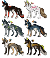 Designs for sale![open] Points and USD(1-3 open!) by Psitt