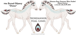 7850 Eternal Odyssey Foal Design by pony-bones