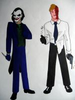 Joker and Two-Face: Animated by Mathewism