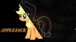 MLP Applejack wallpaper by PrivateScoop
