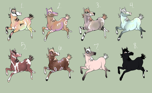 .Point Adoptables Batch5. by Dezzired