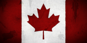 Canadian Flag small'ish by bbboz