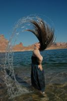 Lake Girl 07 by Lynnwest-Stock
