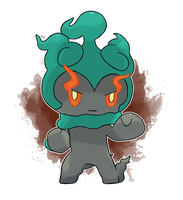 SPOILER - Marshadow by DevilDman