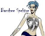Meet Banshee Spektre by OH-I-KNOW-HER