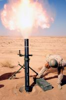 120mm Mortar by MilitaryPhotos