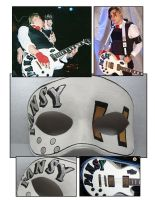 MCR Pansy guitar mask by maskedzone