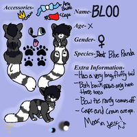 BLOO's ref .:OC-REF:. by SuperMoss13