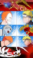 +Ichigo vs Naruto+ by THENCHU99