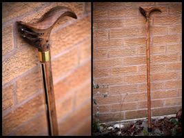 HMS Victory Walking Stick by back2root