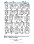 Caratacus - 25 Expressions by ethereel