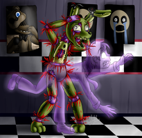 Springtrap (Five Nights at Freddy's 3) by ArtyJoyful