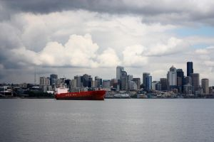 Seattle by sea by hcrobber