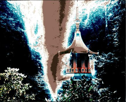 pagoda fountain by graphic-rusty