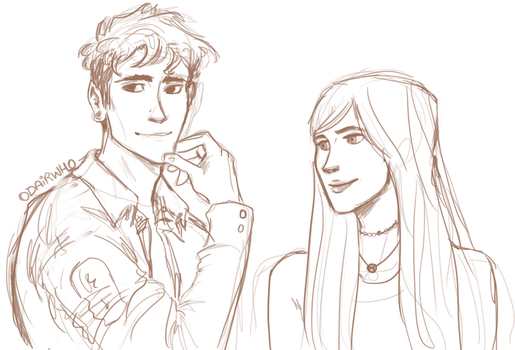 teddy and victoire by odairwho