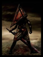 Pyramid Head by liquid-venom