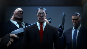 Payday 2 : Team Fortress version by P0nyStark