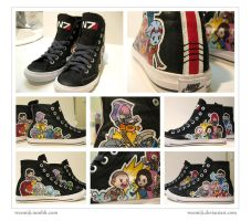 Custom Mass Effect Kicks by weemiji