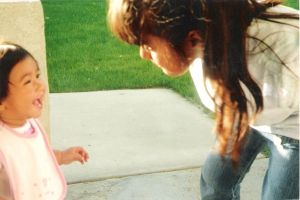 Me and my baby-sister: Young age by raelynn109