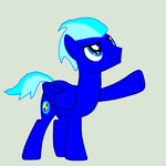 Adult Shock Blue by mario8384
