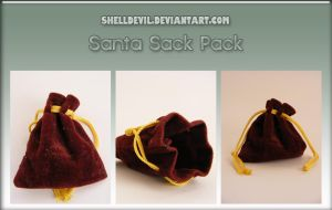 Santa Sack Pack 1 by shelldevil