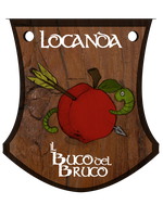 Insegna Locanda Buco del Bruco by DungeonDisasters