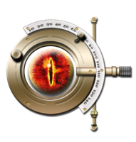 Steampunk Sauron LOTR Icon MkIII by yereverluvinuncleber