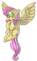 Fluttershy design by Busoni