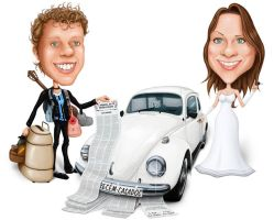 Caricature Marriage by Geison