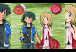 can I take your hand?amourshipping by hikariangelove