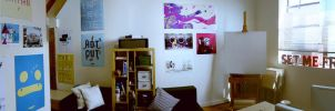 Open Studio Panorama 02 by raccoonnook