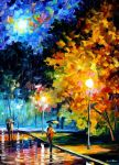 BLUE MOON by Leonidafremov