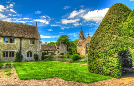 Great Charfield House And Gardens 2- Stock by supersnappz16