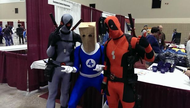 Crazy dudes @ Kansas City Planet Comicon 2014 by W2BSuperman