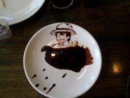 Chocolate Luffy by GarthTheDestroyer