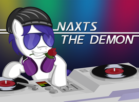 Naxts' Other Ponyfied Self by BroccoliMeansFun