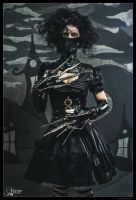 Edwardine Scissorhands by xXAnemonaXx