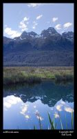 Mirror Lakes, Milford Road by neilcreek