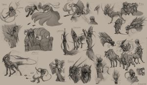 Sketches by Autlaw