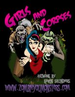 Girls and Corpses magazine art by zombie-you