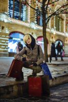 Moscow GUM and Red Square by skyrap