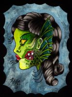 The Gill Girl by Vicki-Death