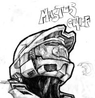Master Chief by TheBoyofCheese