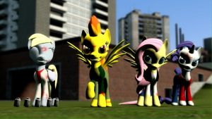 (Hex Pack DL) Left 4 Equestria by Legoguy9875