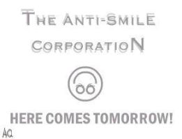 The Anti-Smile Corporation ID by scottish