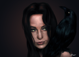 Crow by Chickenese
