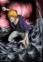 Ichigo's Fullbring: Stage Two by VKliza