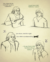 Hiccup the Meany-face by AvannaK