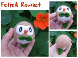 Felted Rowlet by scilk