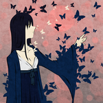 PCM for Orangenbluete - butterfly by Tsuranami